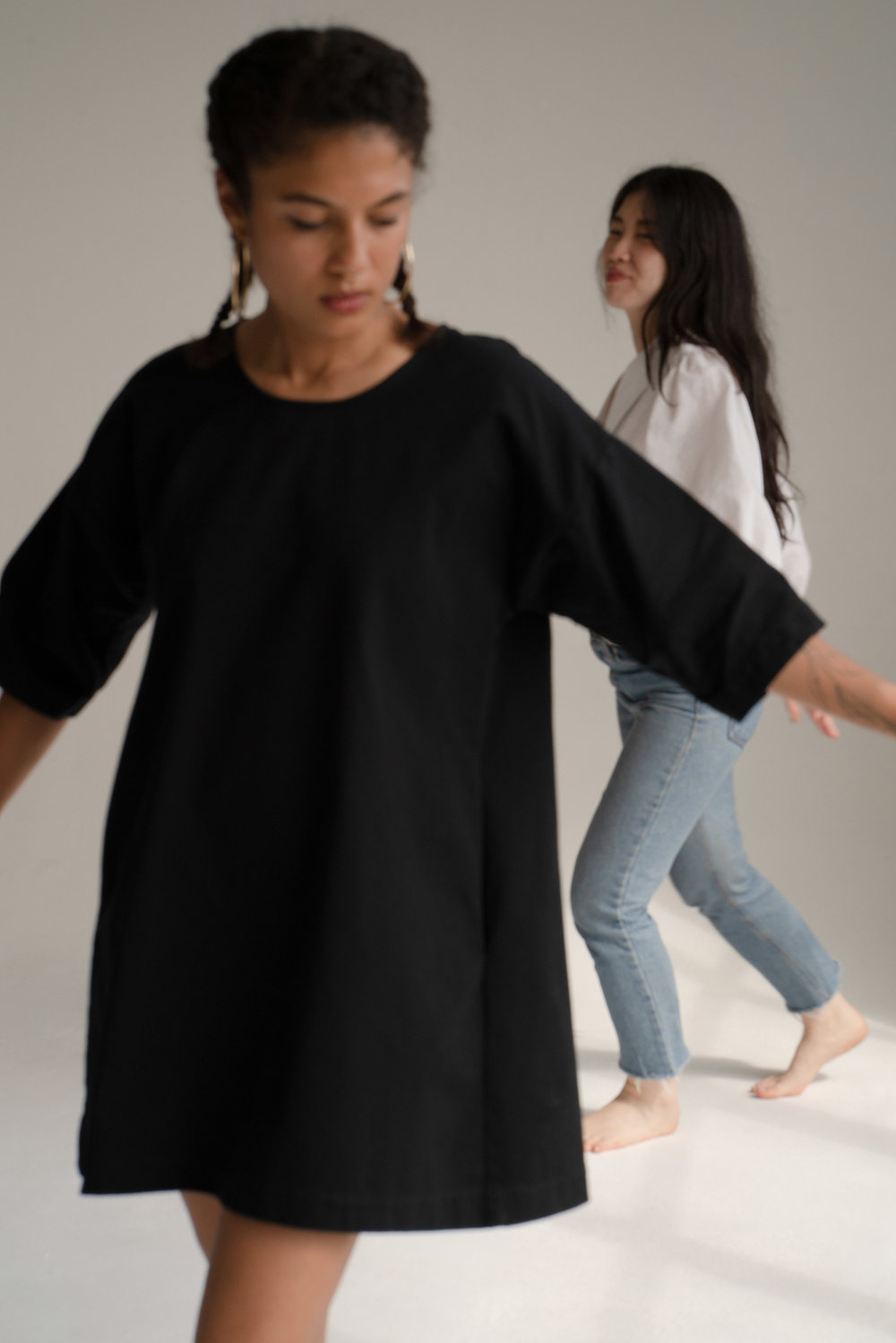 TENT DRESS  BLACK. 20180520-DSC01871.jpg  sc 1 st  donu0027t worry baby & TENT DRESS : BLACK u2014 DONu0027T WORRY BABY