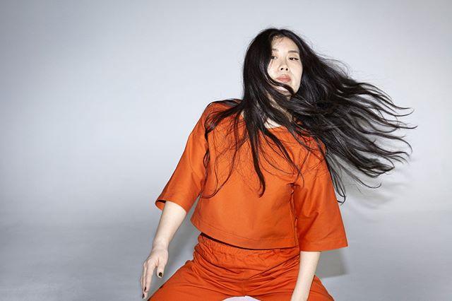Janet in Tangerine. #playclothesforgrownwomen