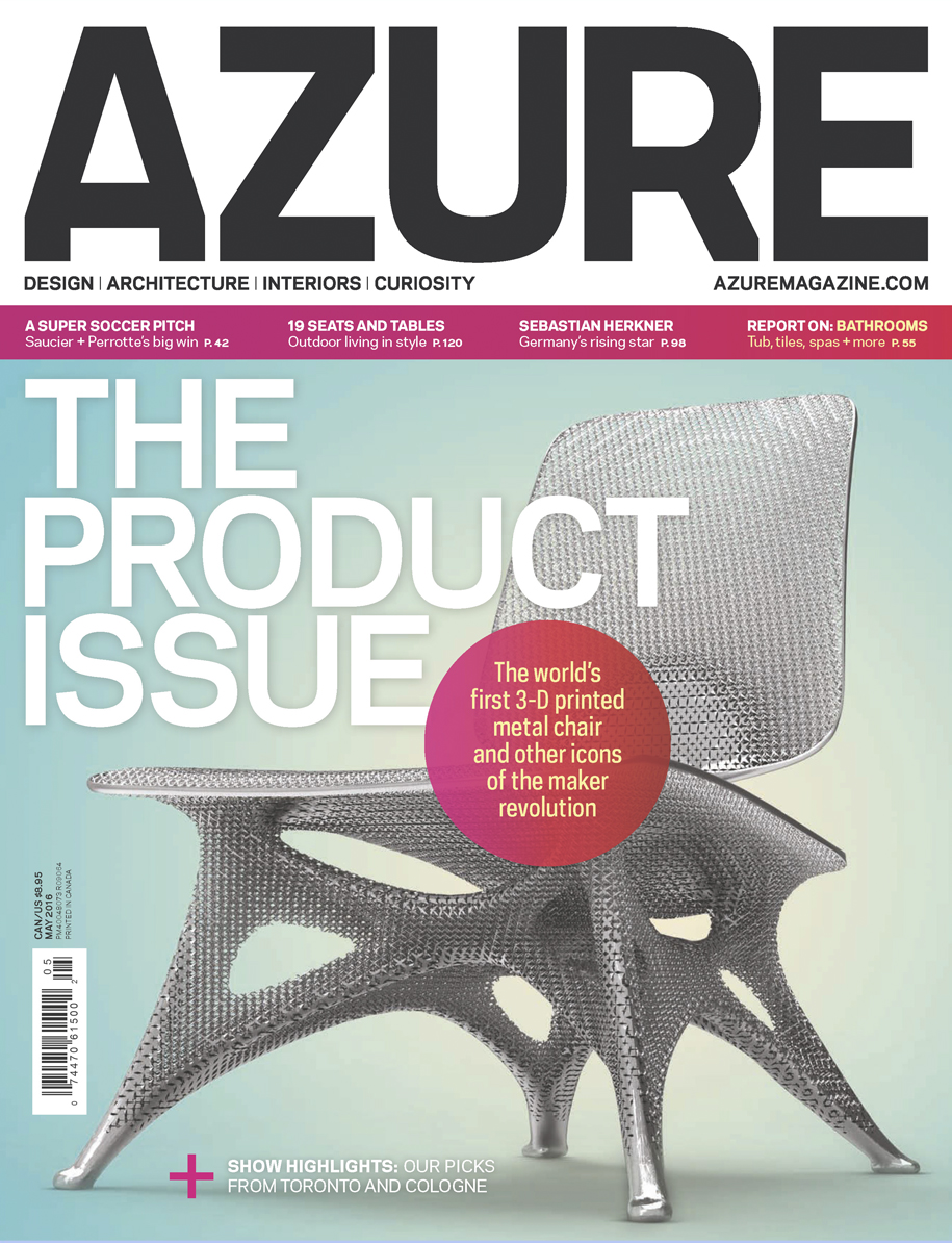 Azure Magazine | Makers and Shakers by Catherine Sweeney