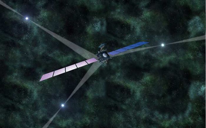 Our galaxy hosts a pulsar positioning system that works pretty much like GPS.