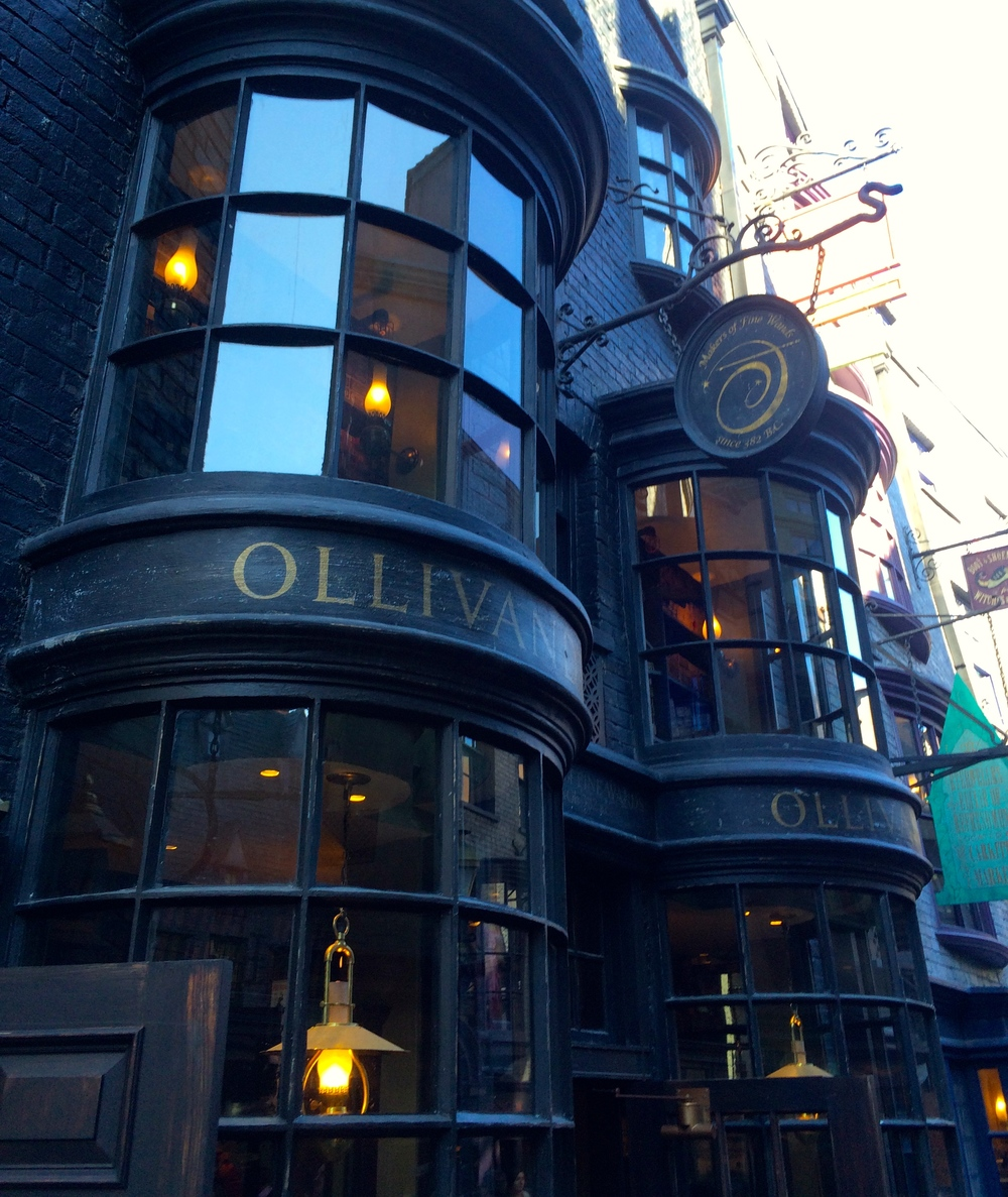 Olivander's Wand Shop Outside