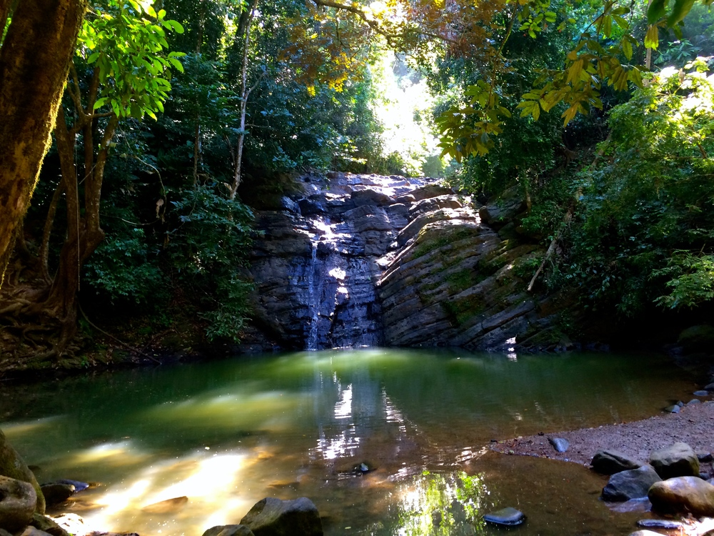 waterfall 2 in costa rica