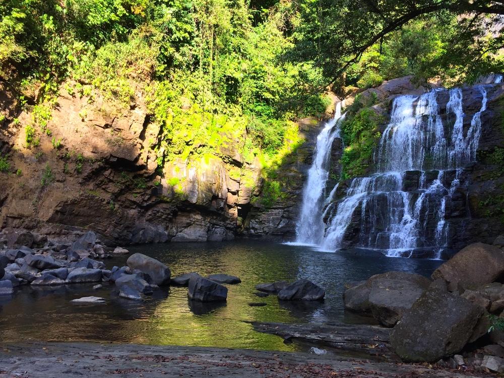 big waterfall in costa rica