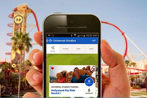 Universal Studios Phone App