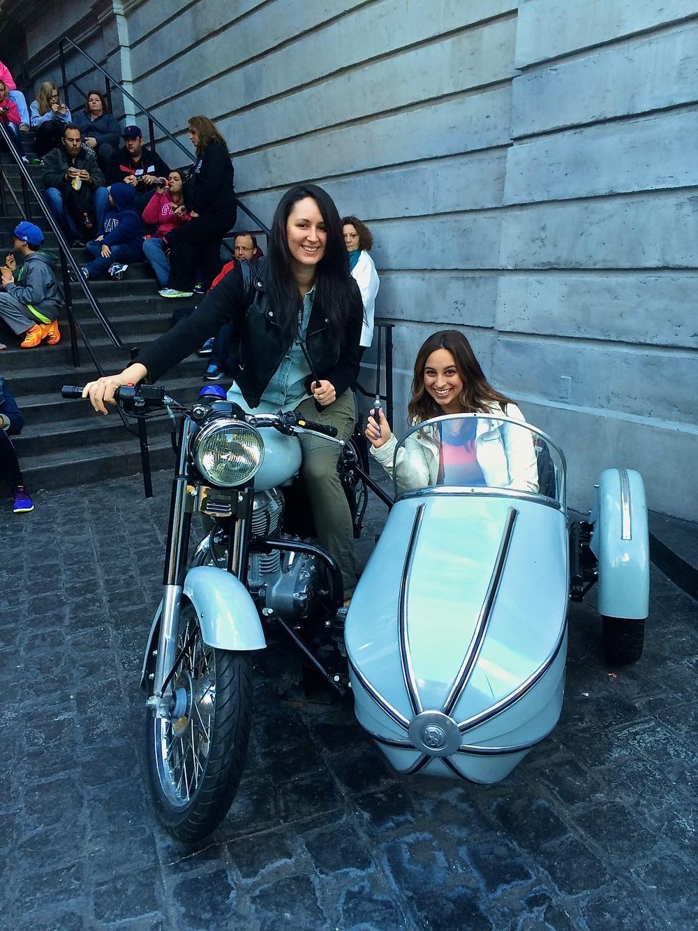 Hagrid's Motorcycle