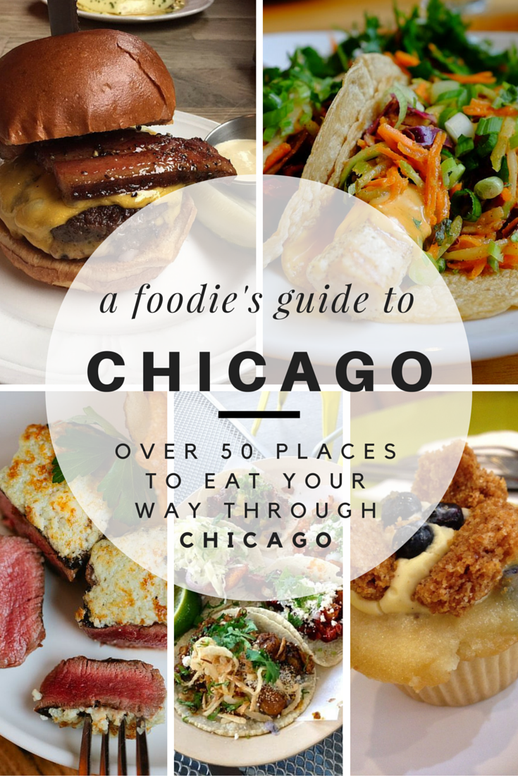 A Foodie\'s Guide to Eating Around Chicago — The City Sidewalks
