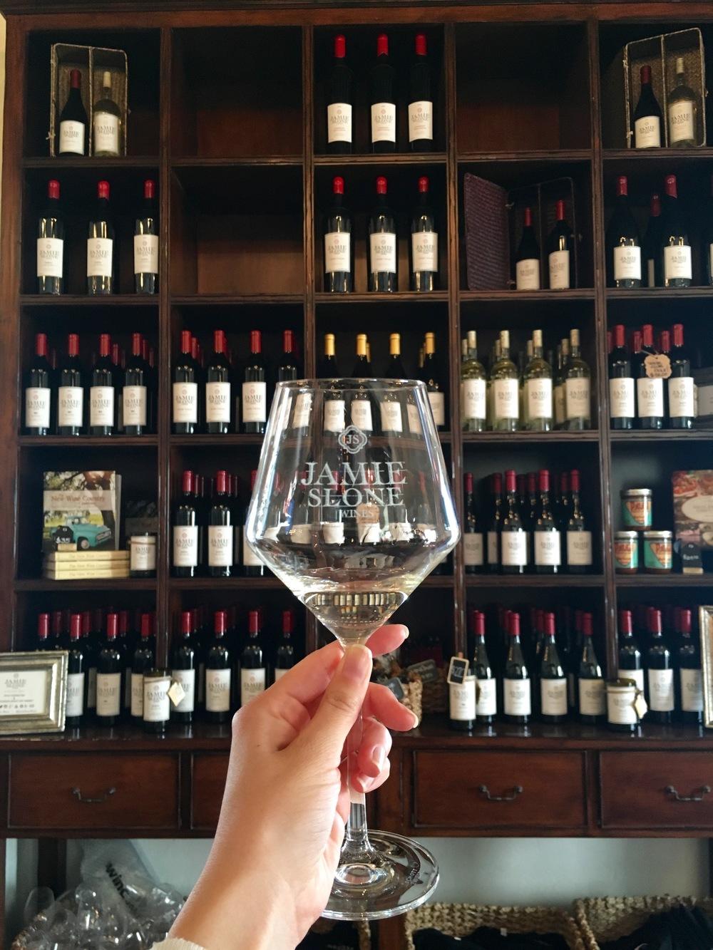 Jamie Slone Wine Tasting