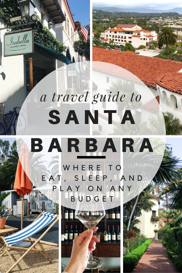 travel guide to santa barbara
