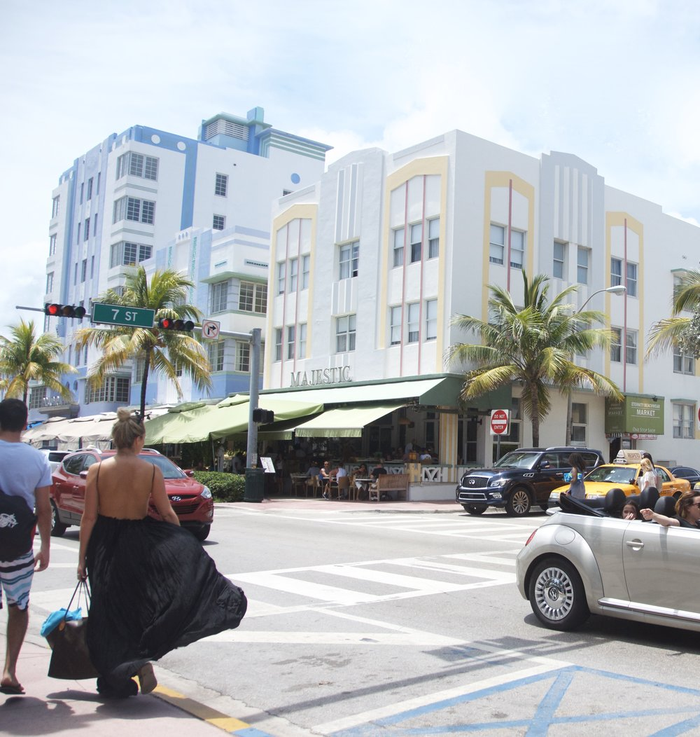 Art Deco Buildings in SoBe