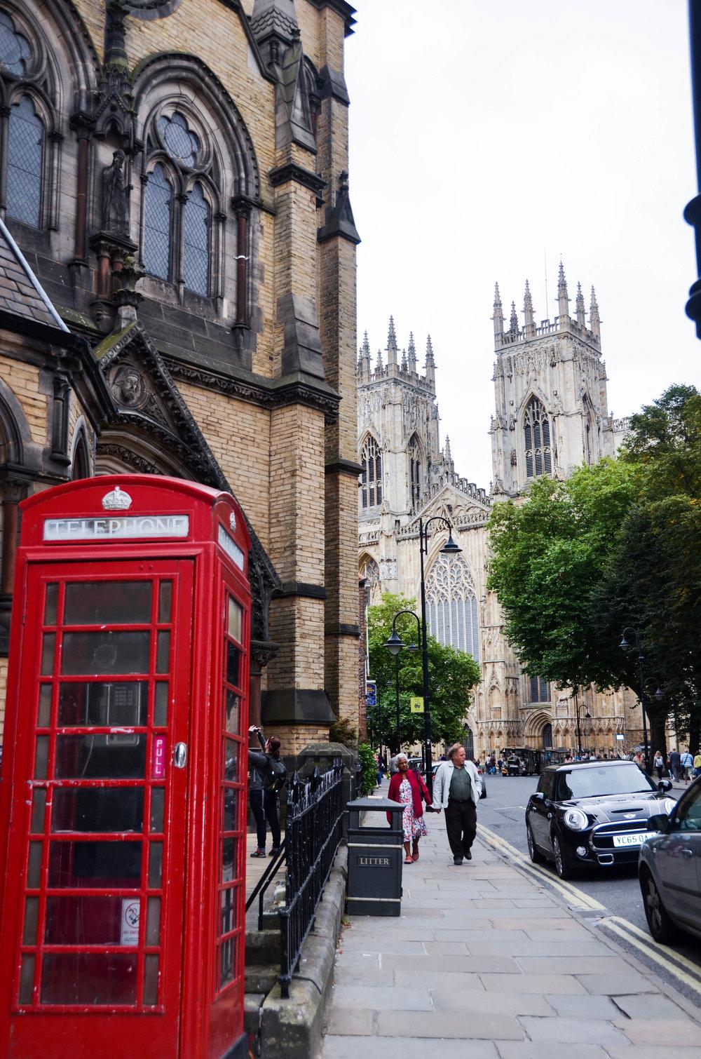 York, England -