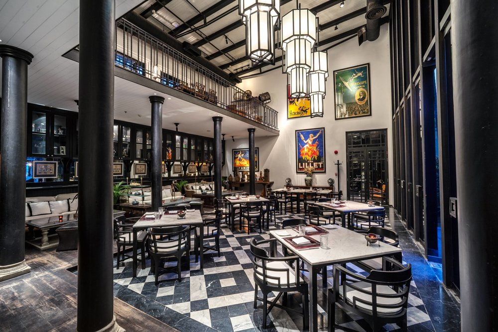 Deco Bar and Bistro - Photo Courtesy of The Siam Hotel