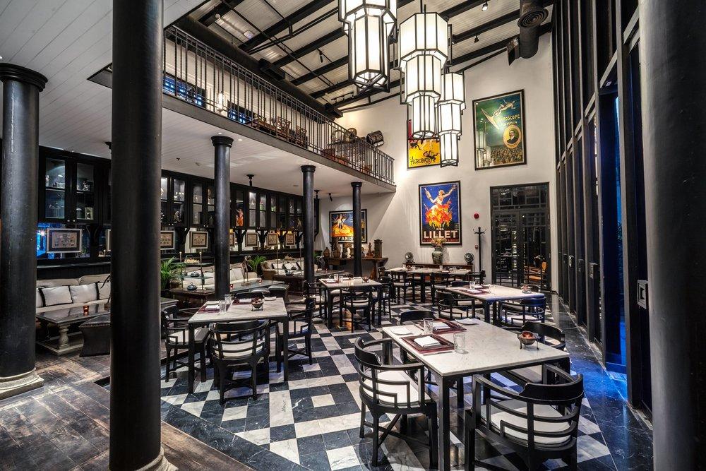 Deco Bar and Bistro - Photo Courtesy of The Siam Hotel