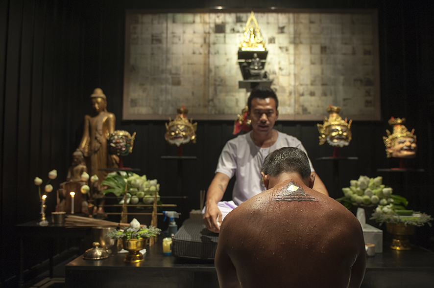 Sak Yant Tattoo Studio - Photo Courtesy of The Siam Hotel
