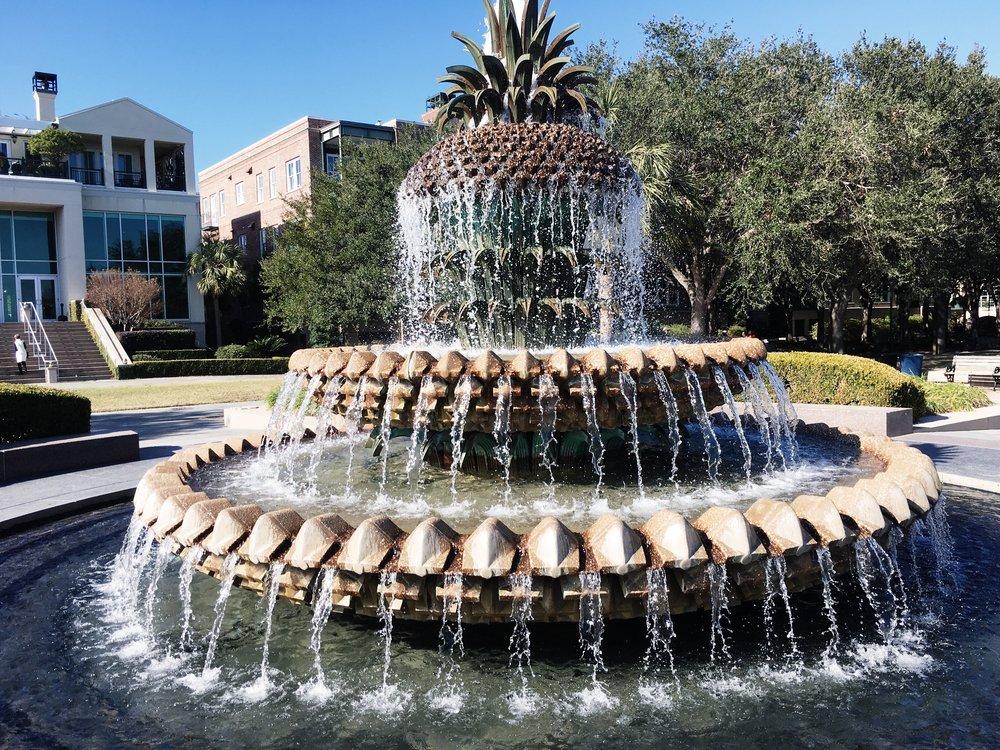 Charleston Pineapple Fountain.jpg