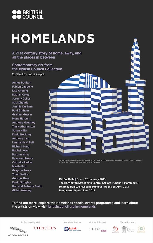 Homelands poster