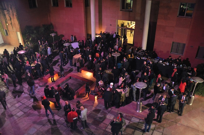Launch evening reception at the British Council in Delhi