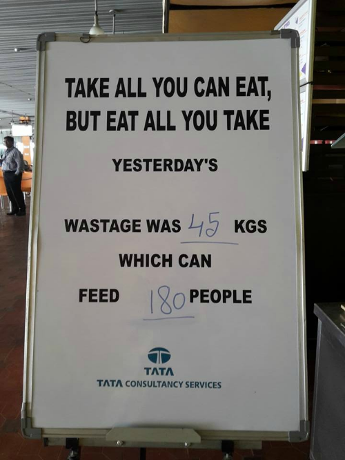 TCS sending out a strong message to its employees