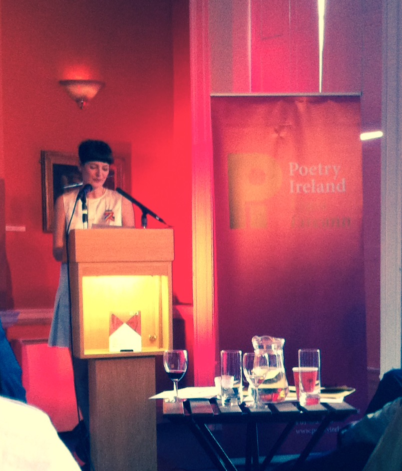 Reading at the Poetry Ireland Introductions Series 2015