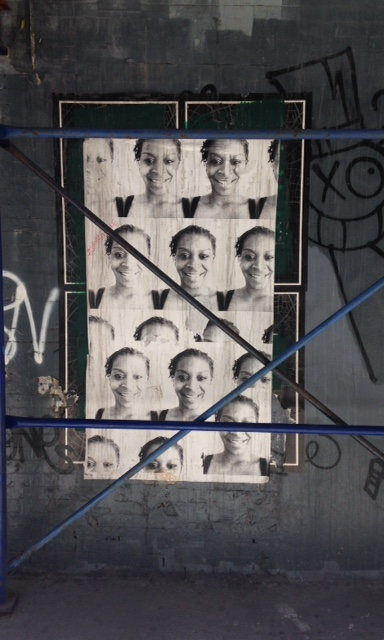 Sandra Bland street art, Soho, New York City