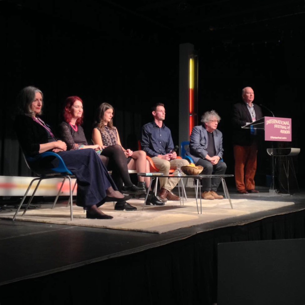 Ireland @ IFOA with Caitriona Crowe, Emma Donaghue, Ciaran O'Rourke, Paul Muldoon, Toronto, October 2016