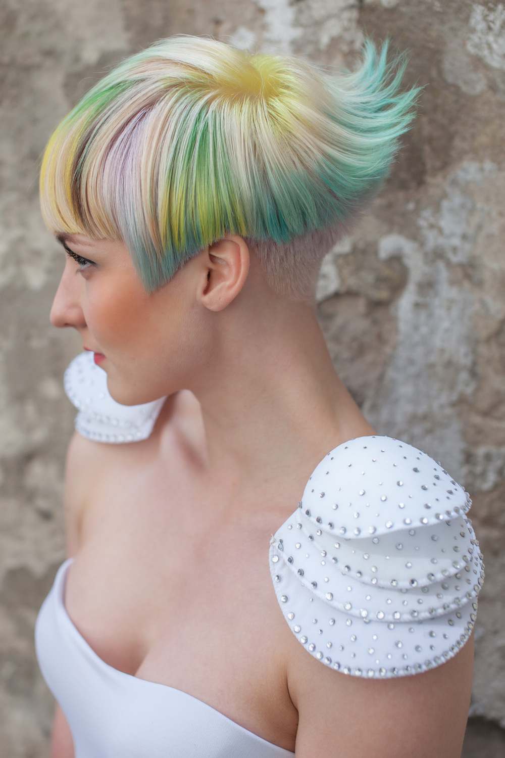 goldwell colorzoom hairdresser competition contest winner photo