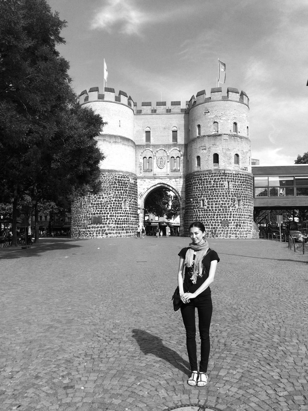 18.Juli 2015 : am West-Tor