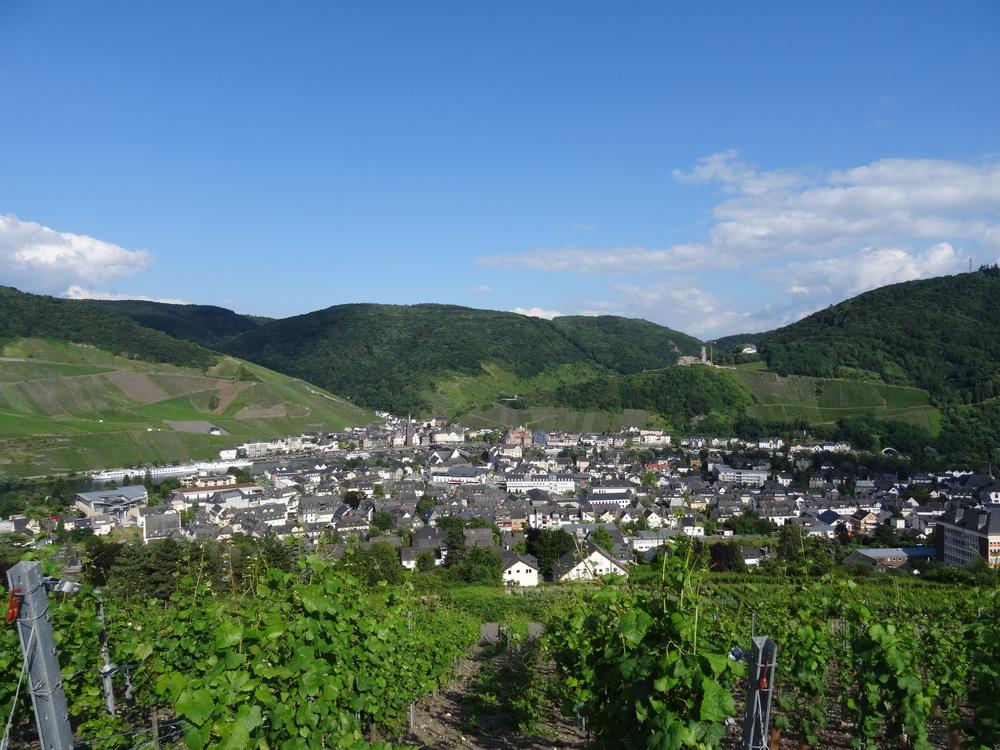 09.Aug 2015 : Blick auf die Stadt Bernkastel-Kues