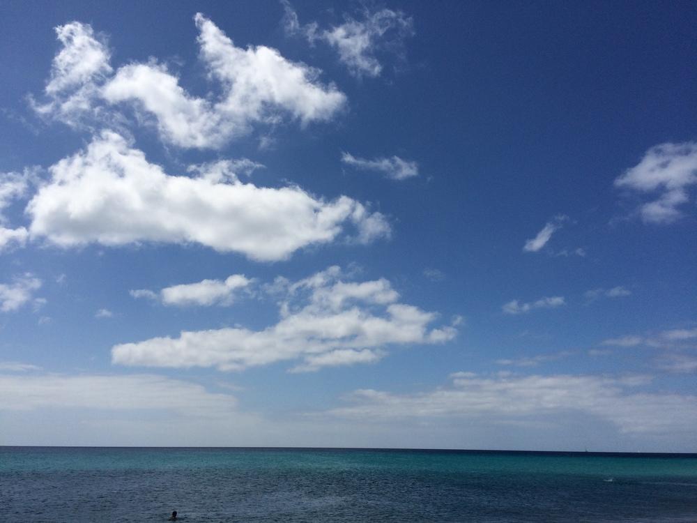 29.Aug 2015 : Der Himmel und das Meer