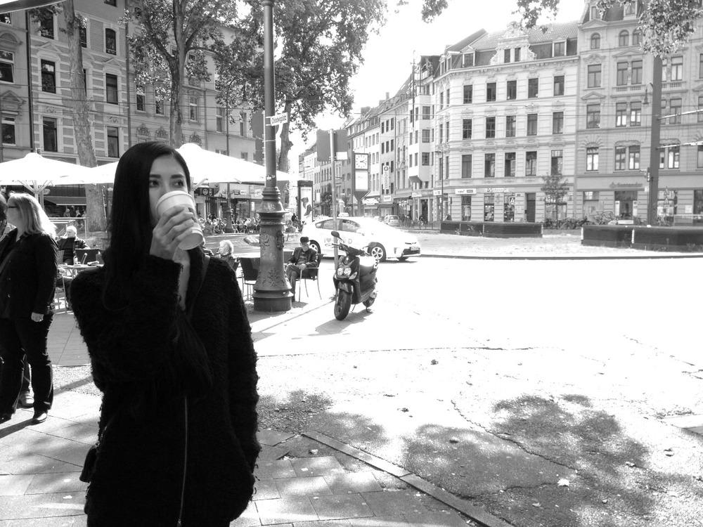 04.Okt 2015 : Kaffeepause nach dem Mittagessen