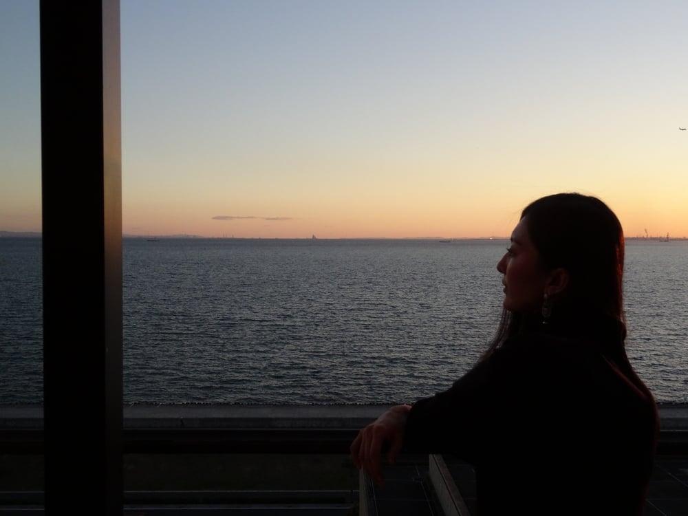 26.Dez.2015: schöner Meerblick von unserem Hotelzimmer