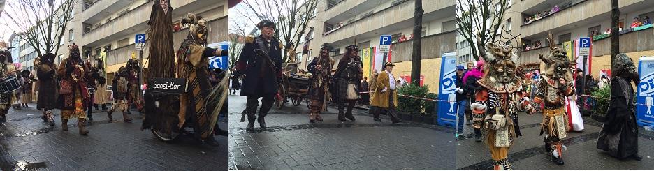08.Feb.2016: Karneval Parade am Anfang