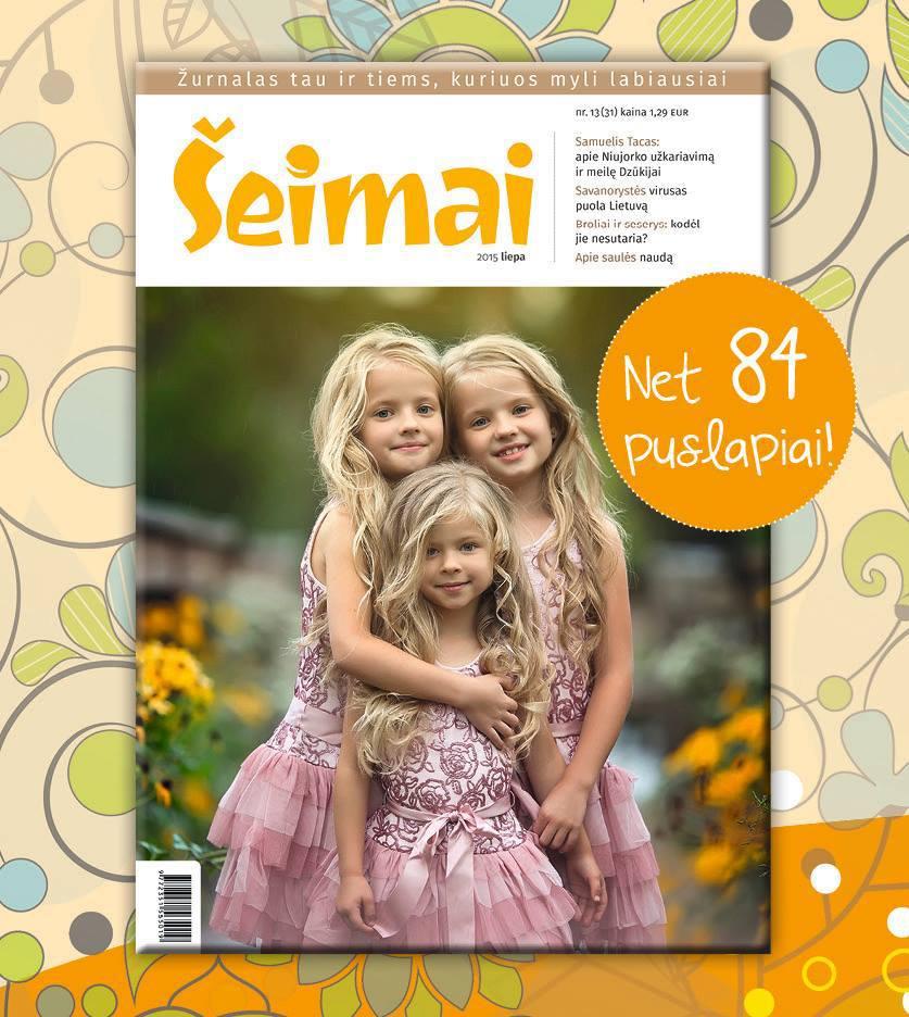 """Šeimai"" cover, Lithuania, July 2015"