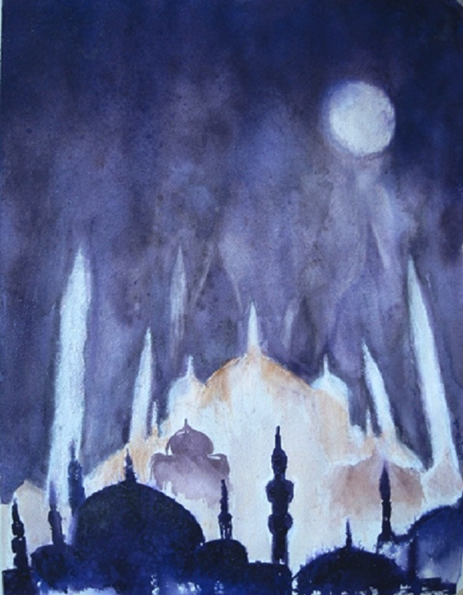 "Jan St. Onge ""Blue Mosque"""