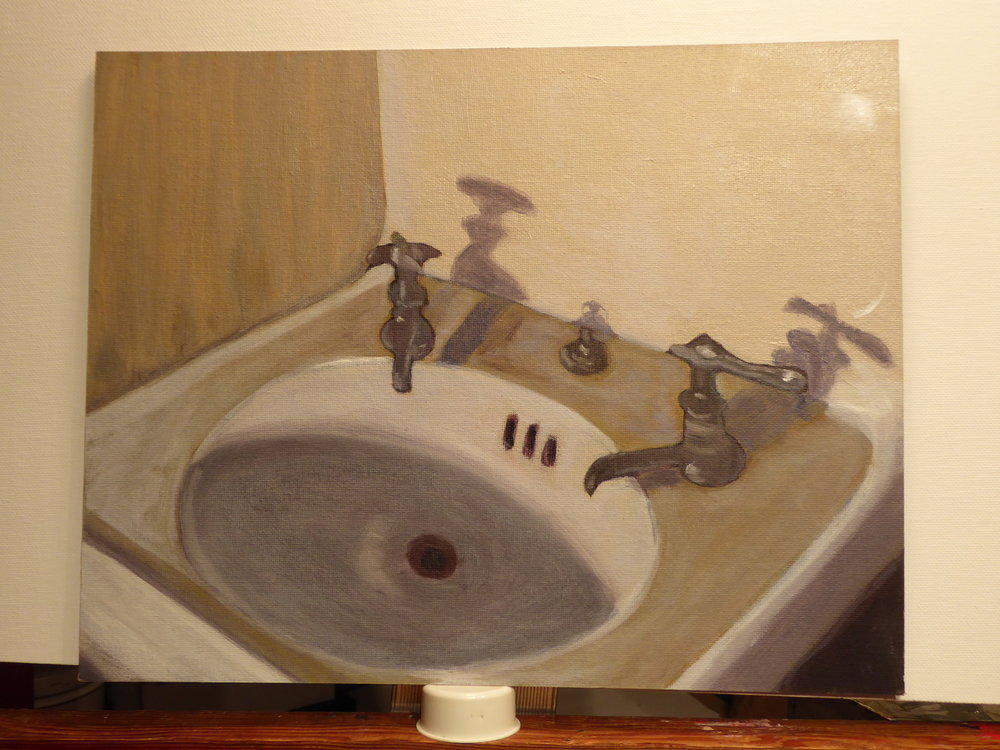"Karla Wilhelm ""Artists' Sink"""