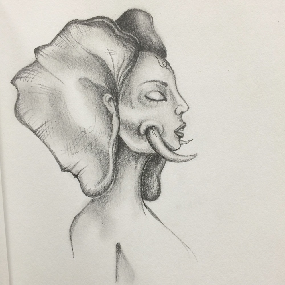 An Everyday Face: 2 / 365  Elephant Woman