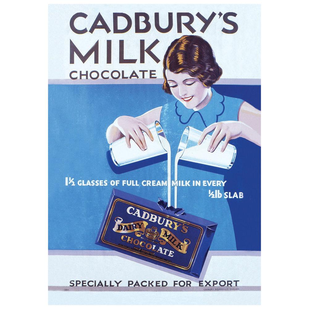 A 1950s Cadbury's ad