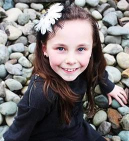 シアトルの9歳の少女Rachel Bucklease