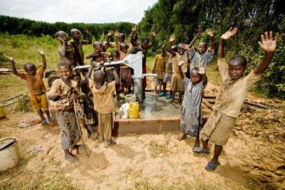 エチオピアに作られたレイチェルの井戸