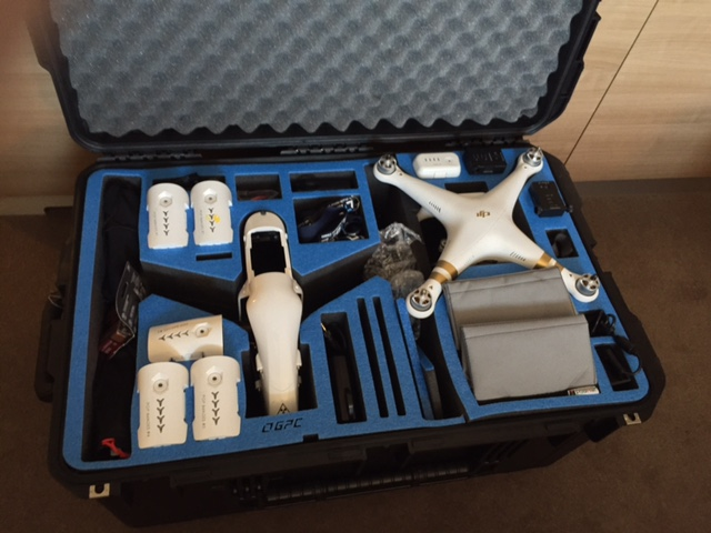 Go Professional Inspire 1 Duo case.