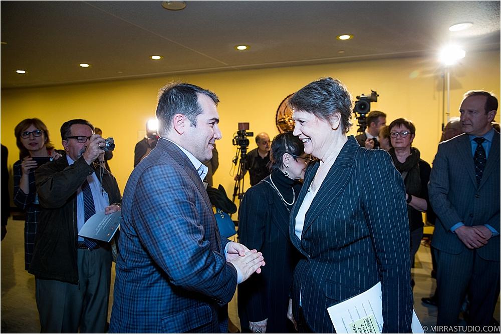 Meeting Prime Minister Helen Clark