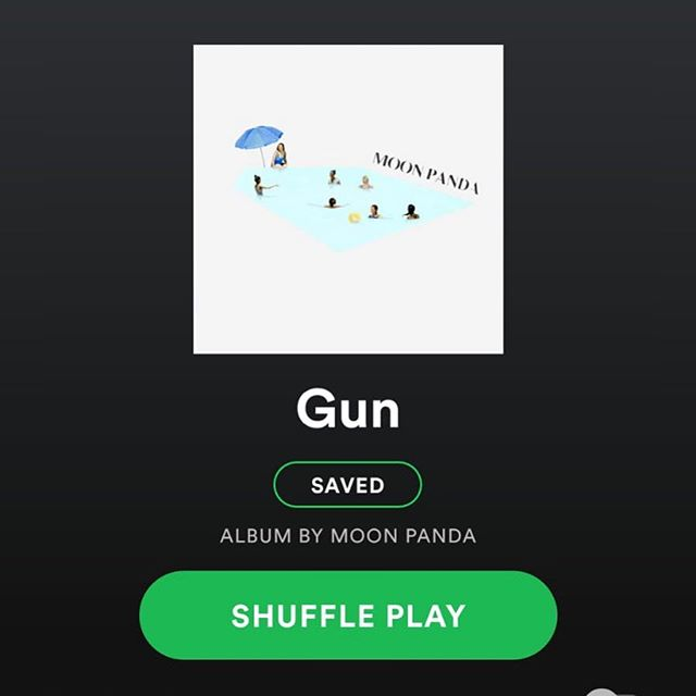 OUT NOW // GUN // @moonpandamusic  LISTEN TO IT!!!!