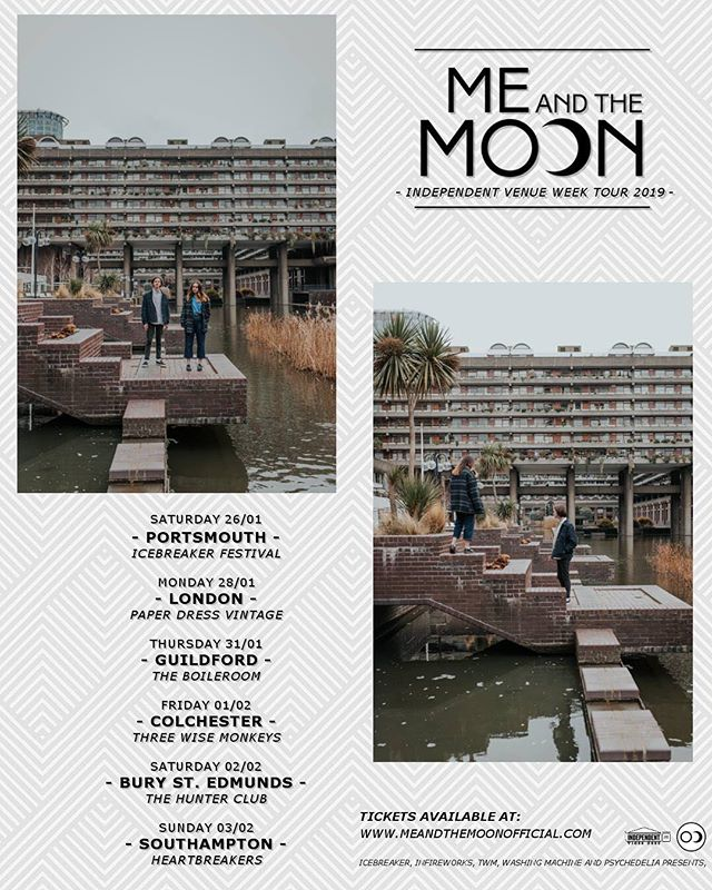 We've been hibernating, cos we hate January. So very bleak.  But our mates @meandthemoonofficial are hitting the road tomorrow and we're slinking out on Monday at @paperdressvintage to join in!! Let's party!