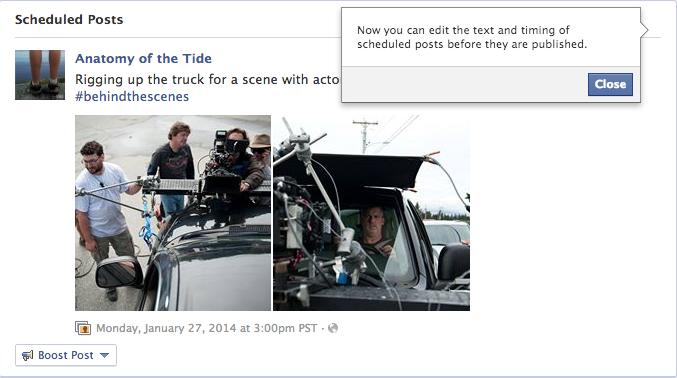 2014 facebook updates
