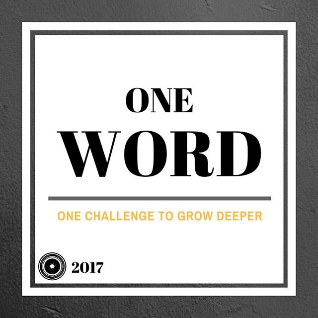 """Check out our new discussion series  for """"One Word"""" Click the link in our bio to be forwarded to the introduction!"""