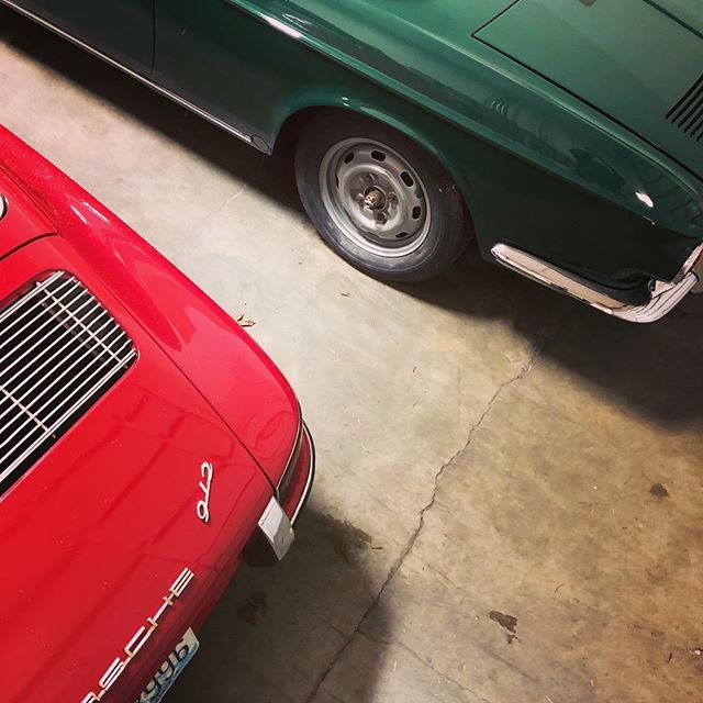 Christmas colors in the garage. #zwölfgang912