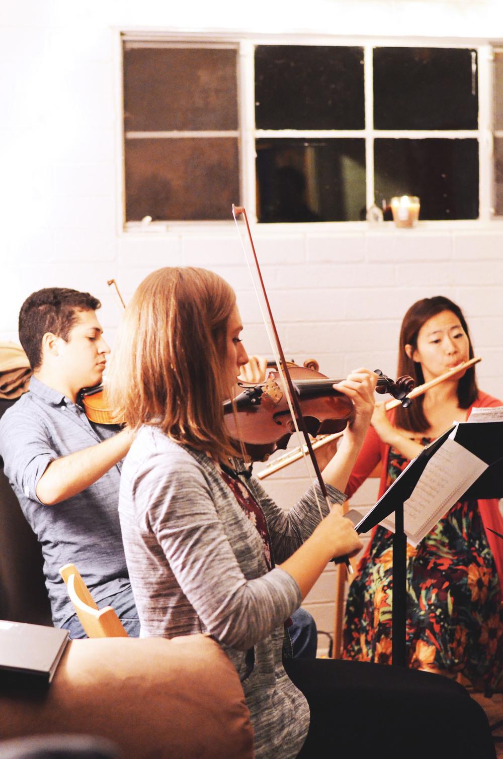 Left to Right: Emilio Vazquez, Olivia Lemmelin, NaYoung Ham