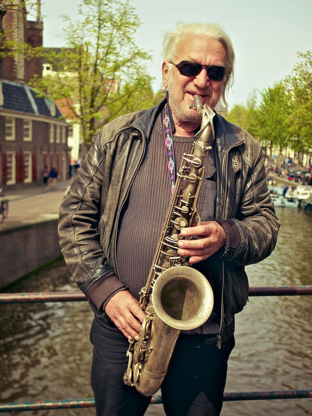 Saxophone on the Bridge