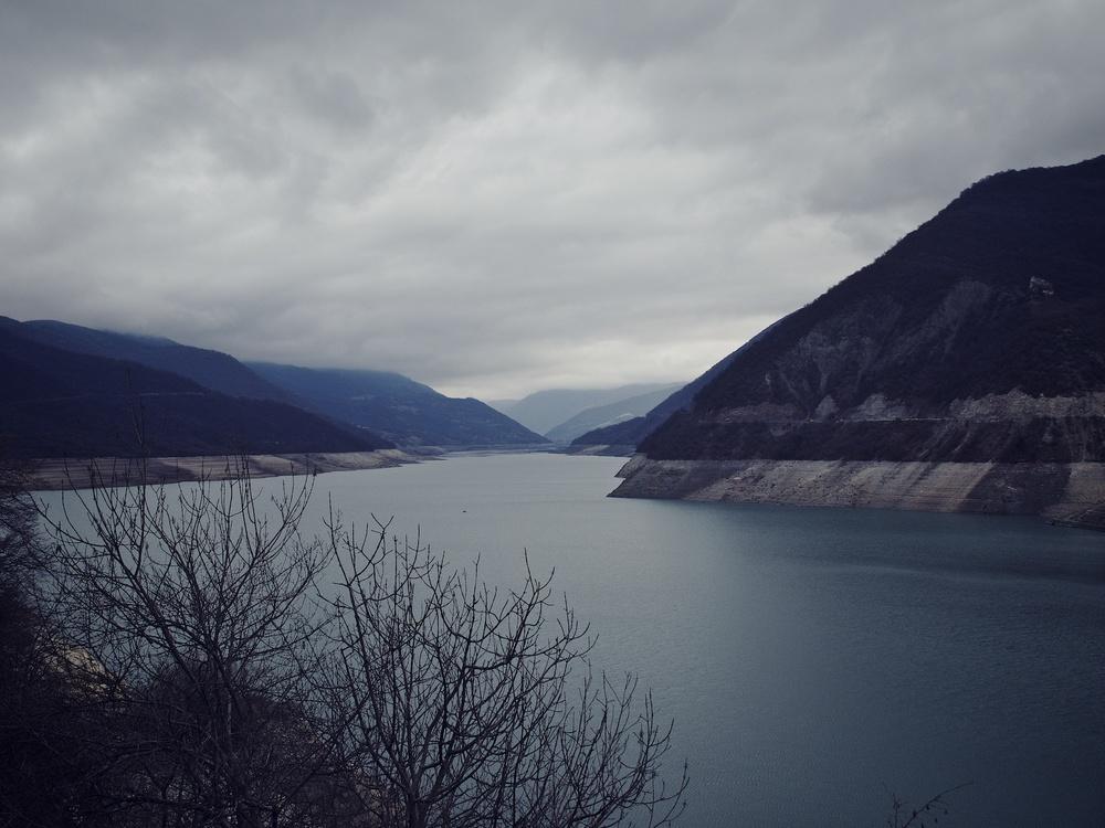 Zhinvali Reservoir