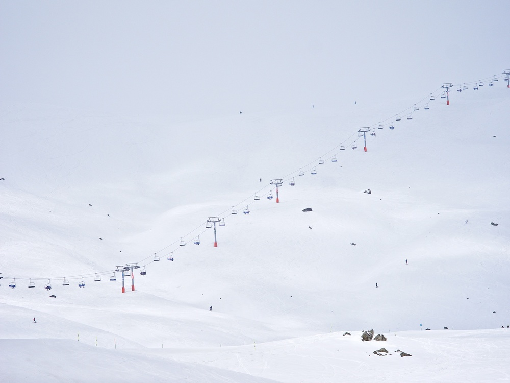 Gudauri Ski Slopes