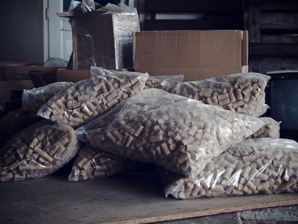 Cork Storage
